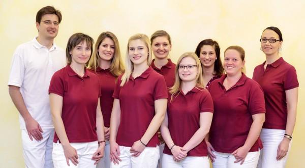 Team der Zahnarztpraxis Dr. Deutloff